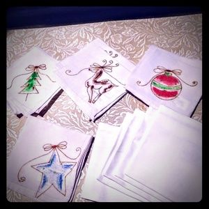 Pottery Barn Holiday napkins